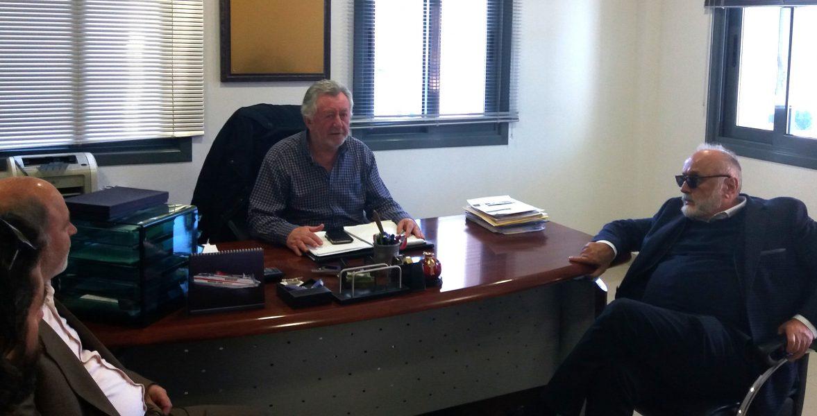 Ήγουμενίτσα: Γ΄ φάση λιμένα, επιχειρηματικό πάρκο και χερσαία ζώνη στο επικεντρο της συναντησης Κουρουμπλή – Νταή