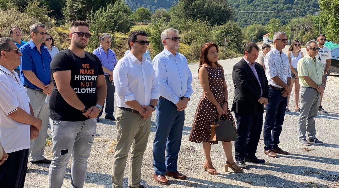 Θεσπρωτία: Τίμησαν τα θύματα των ναζιστικών κατοχικών δυνάμεων στη Μίχλα Παραμυθιάς