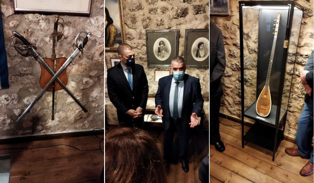ΘΕΣΠΡΩΤΙΑ-Πραγματοποιήθηκαν τα εγκαίνια της οικίας Τζαβέλα στο Σούλι